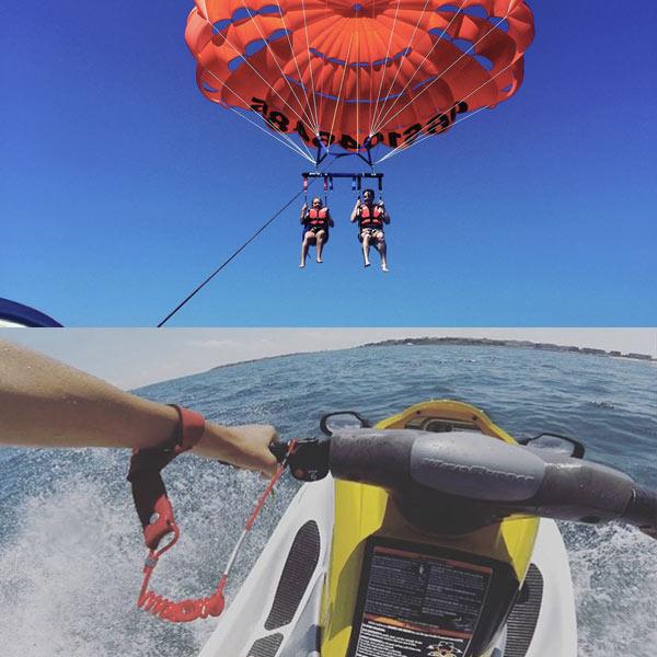 Parachute ascensionnel Sainte Maxime les issambres